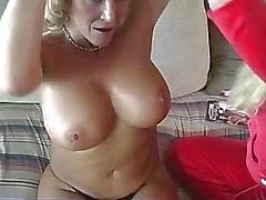 lesbian pussy young big tits blonde