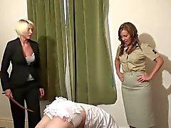 bdsm femdom lingerie spanking