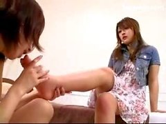fuß-fetisch japanisch lesbisch