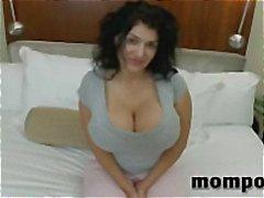 boobs cougar cumshot