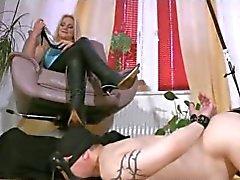 bdsm femdom fetiche por pés