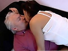 bisexual blowjob brunette cuckold