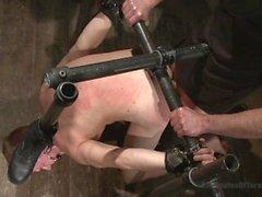 Straight Southern Boy Zane Anders Endures a Hard Beating - Scene 1