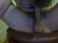 self-deepthroat with cum PT 1
