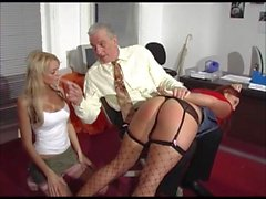 handjobs stockings old young british spanking