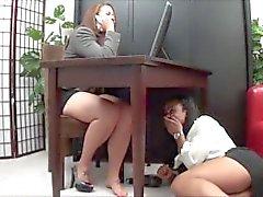 girl-on-girl lesbians feet-tickling lesbian