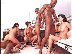 facials group sex interracial