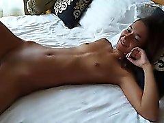 brunette hardcore small tits
