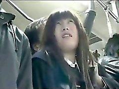amateur asian bus public