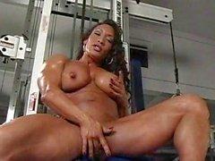 solo girl brunette big tits