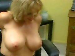 grote borsten blondjes femdom