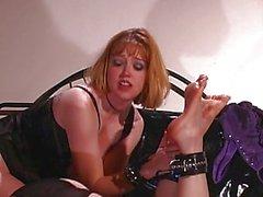 lesbiana dominación caucásico