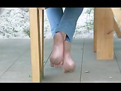 homemade kinky barefoot