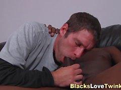 anal ebony amateur interracial blowjob