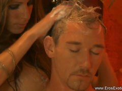 brunette érotique branlette hd massage