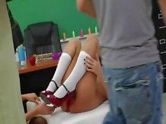 bambino lesbica leccare
