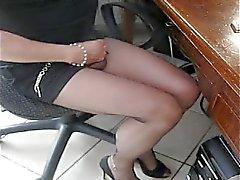lingerie masturbatie kousen