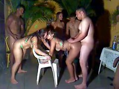 amateur brazilian gangbang swingers