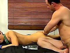 Fat old indian male gay sexy movies Mike ties up and blindfo