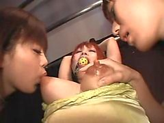 japanese lesbians nipples