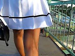 meias upskirts voyeur