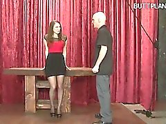 bdsm fetish spanking stockings