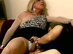 crossdresser fucking threesome mature lingerie
