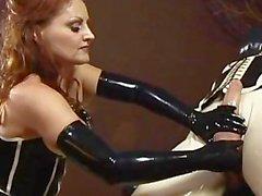 mistress gemini lube stroking