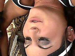 pipe brunette hardcore
