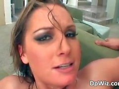 flower tucci threesome squirt double-penetration small-tits