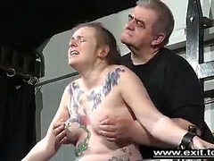 bdsm fetish hairy spanking