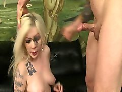 big boobs blondine blowjob