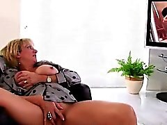big boobs blonde fingering masturbation solo