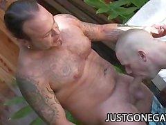 gay dilf daddy gay-outdoor