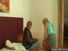 mature wife old mom housewife