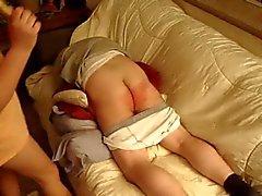 femdom pov spanking