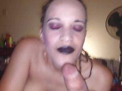 misslady666 goth blowjob