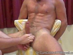 cumcontroluk edging muscle cum shot cbt hand job hunk tattoo big dick serviced massage piercing helping hand male