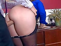 ass worship babes boss brunette business woman