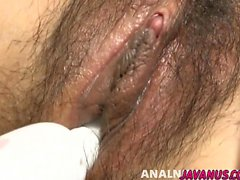 asiático dedilhado peludo