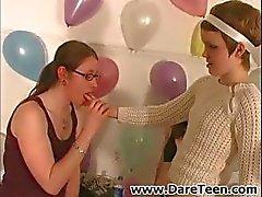 amatör çılgın komik lezbiyen parti