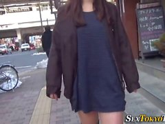 straight babe public asian japanese