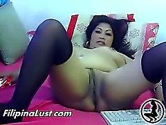asiatico filipina masturbazione