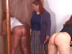 redheads spanking secretaries