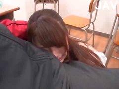 asiatico insegnante giapponese pompino adolescente