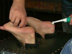 bdsm cosquillas que cosquillean pies metros de cosquillas la tortura