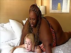 bbw face sitting interracial