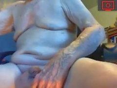 gay amateur daddy handjob