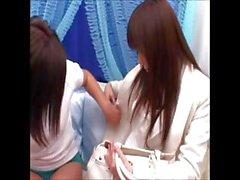 asiatico giapponese lesbica masturbazione