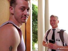 gay homosexuella par oralsex analsex blondin